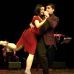Ariadna Naveira and Fernando Sanchez
